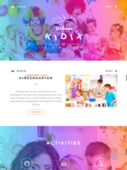 Kidix Premium WordPress Theme