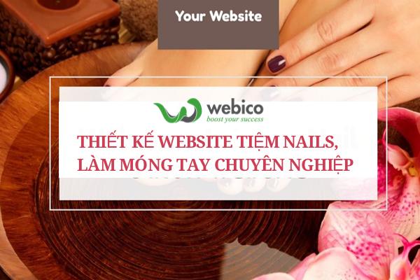 Thiet Ke Website Tiem Nails